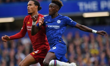 Chelsea star Tammy Abraham names 'beast' Virgil van Dijk as his toughest opponent