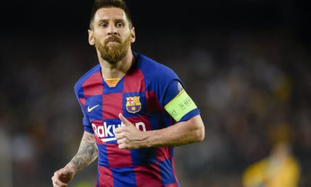 Lionel Messi hails Arturo Vidal after Barcelona's comeback against Inter in the Champions League