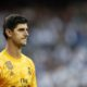 Thibaut Courtois substituted at half-time due to illness as Real Madrid are held by Club Brugge