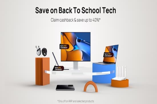 Huawei's Back to School UK Promo is Back!
